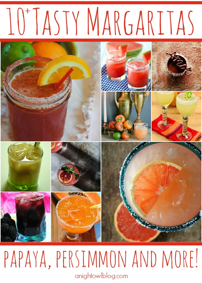 Perfect for Spring and Summer! These margarita recipes look amazing!