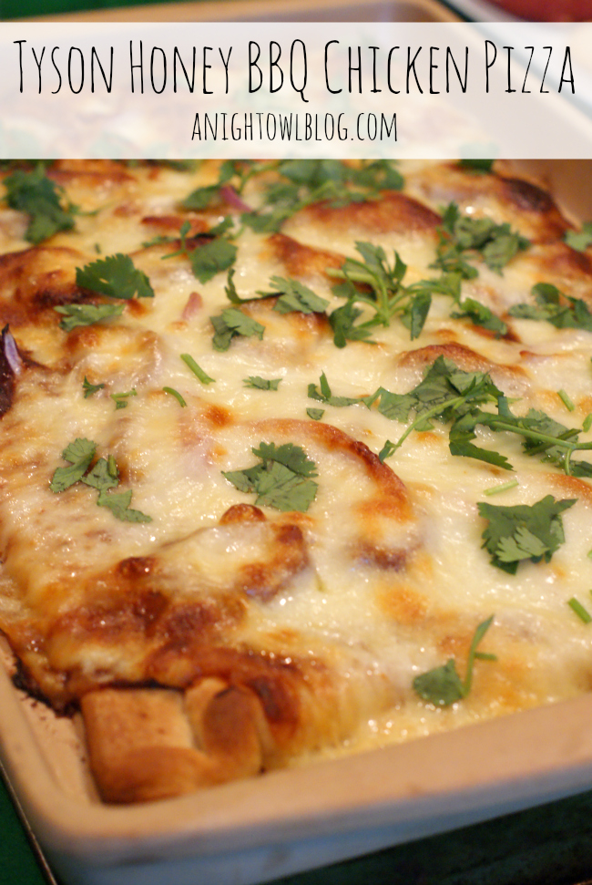 Tyson Honey BBQ Chicken Pizza #MealsTogether