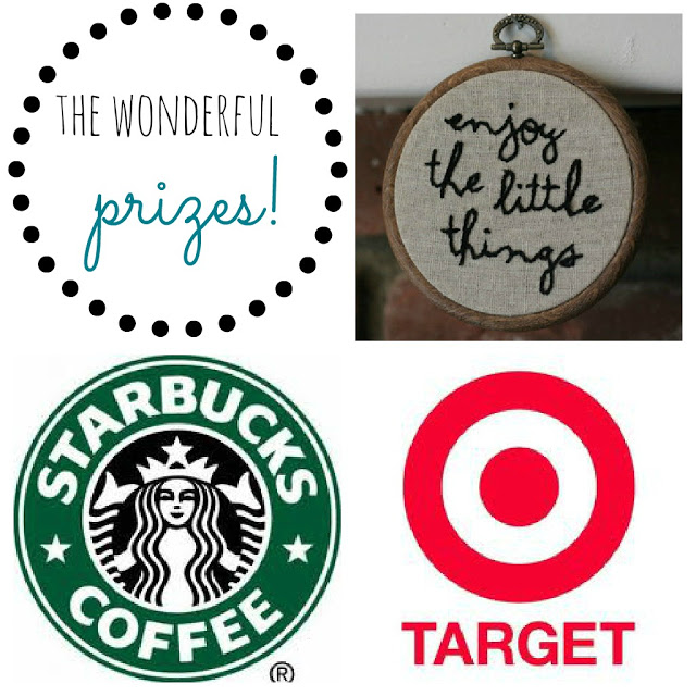 Songbirds + Buttons Group Giveaway - Starbucks, Target + MORE!