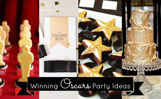 Winning Oscars Party Ideas