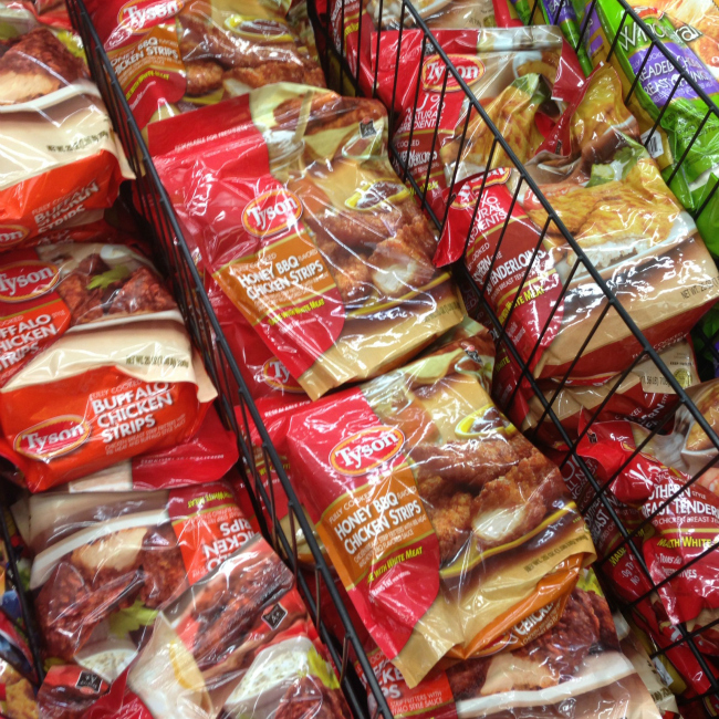 Tyson Honey BBQ Chicken Strips #MealsTogether