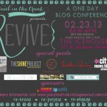 Revive Conference Ticket {Giveaway Closed}