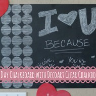 DecoArt Valentine's Day Chalkboard + Giveaway