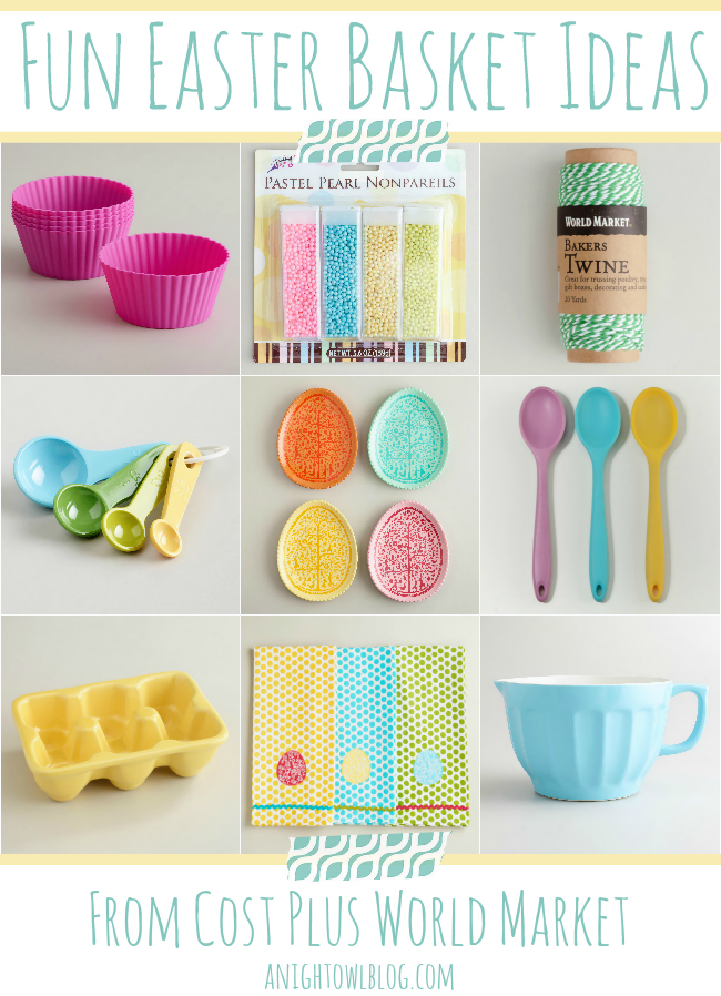 Fun Easter Basket Gift Ideas from Cost Plus World Market