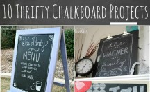 10 Thrifty Chalkboard Projects Feature