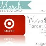 {March Sponsor Giveaway} $60 Target Gift Card