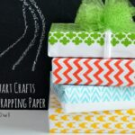 DIY Stenciled Wrapping Paper with Martha Stewart Crafts