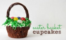 Easter Basket Cupcakes Feature