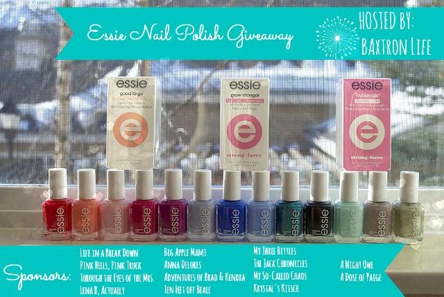 Essie Nail Polish Giveaway!