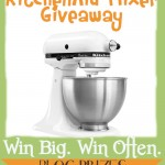 {Giveaway} KitchenAid Mixer