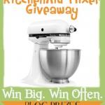 {Giveaway} KitchenAid Mixer