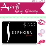 {Giveaway} $100 Sephora Giftcard