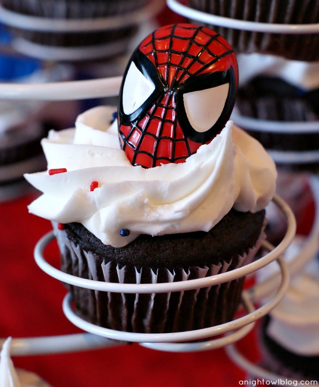 Spiderman Birthday Party A Night Owl Blog