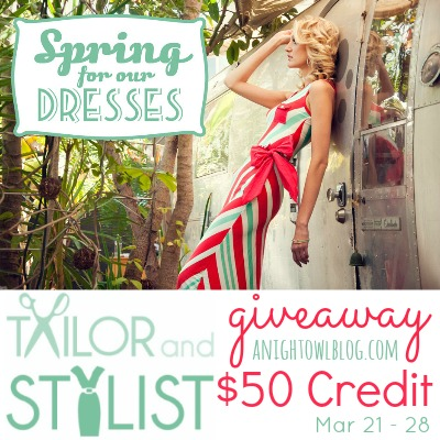 Tailor and Stylist $50 Giveaway