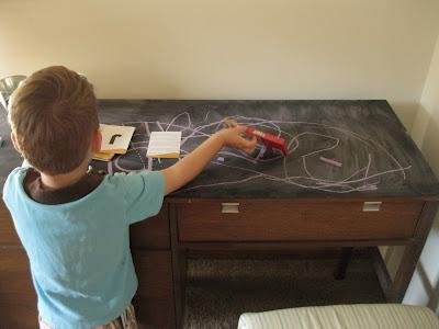 Chalkboard Desk by Monkey See, Monkey Do!
