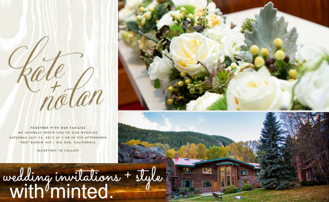Aspen Wedding, see more wedding invitations on Minted