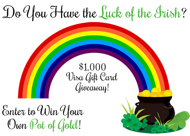 $1000 Visa Gift Card Giveaway at { anightowlblog.com }
