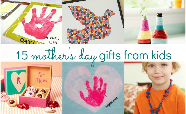 15 adorable mother s day gift ideas from kids a night