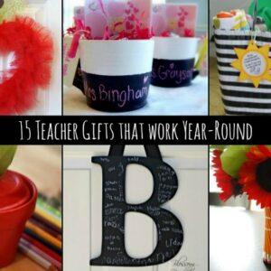 15+ Fun Teacher Gift Ideas