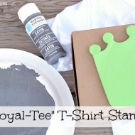 {Thrifty Thursday} Dollar Store Royal-Tee T-Shirt Stamp