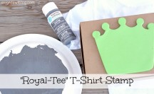 Dollar Store Royal-Tee T-Shirt Stamp Feature