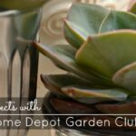 Spring DIY Projects with The Home Depot Garden Club #DigIn