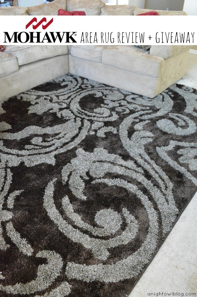 Mohawk Home Area Rug Review and Giveaway
