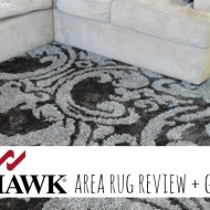 Mohawk Home Area Rug Review + Giveaway