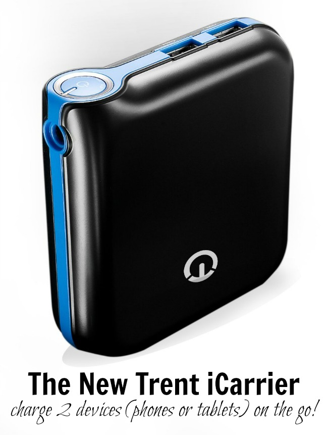 New Trent Icarrier Portable Charger A Night Owl Blog