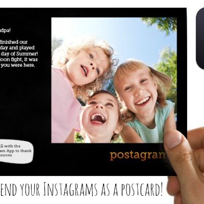 Postagram App - Mail your Instagrams as postcards!