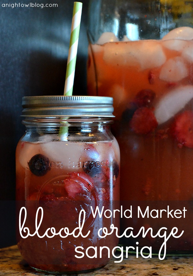 World Market Blood Orange Sangria