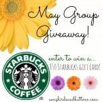 {Giveaway} $60 Starbucks Giftcard