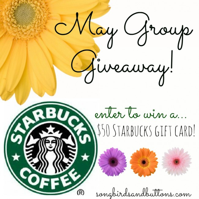 Win a $60 Starbucks Giftcard at anightowlblog.com