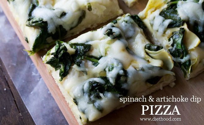 Spinach and Artichoke Dip Pizza A Night Owl Blog