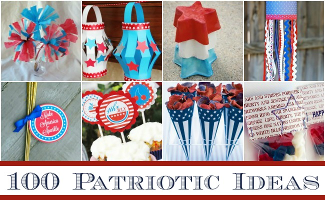 100 Perfectly Patriotic Ideas: Recipes, Decor, Crafts and