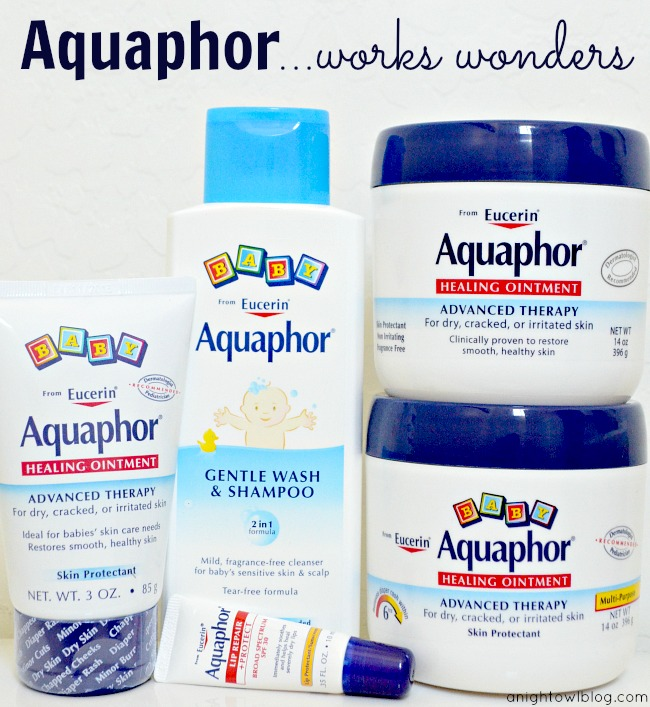 Aquaphor Healing Ointment - works wonders for your skin!