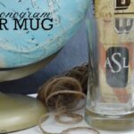 DIY Monogram Beer Mug