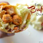 Easy Buffalo Chicken Wrap with Tyson Chicken Fries
