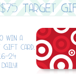 {Giveaway} $75 Target Gift Card