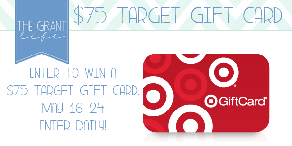 Enter to win a $75 Target Gift Card!  Enter Daily at anightowlblog.com