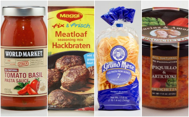 Gourmet Food Products at Cost Plus World Market