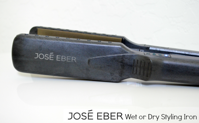 Jose Eber Wet or Dry Styling Iron Review + Giveaway