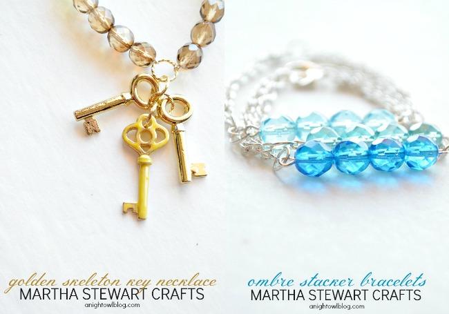 DIY Jewelry with Martha Stewart Crafts #12monthsofmartha