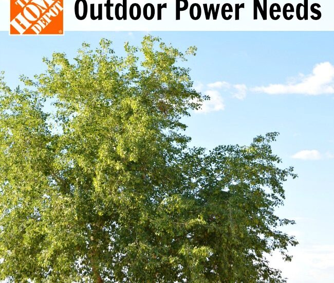 Outdoor Power Needs and The Home Depot Garden Club #DigIn