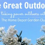 Taking Power Outdoors with The Home Depot Garden Club #DigIn
