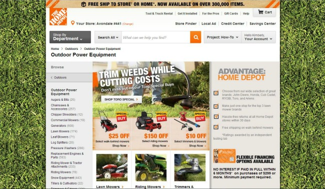 The Home Depot Outdoor Power Equipment #DigIn