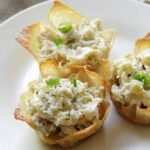 Chunky Chicken Salad Cups Recipe