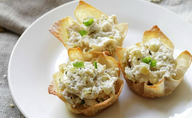 Chunky Chicken Salad Cups Recipe A Night Owl Blog