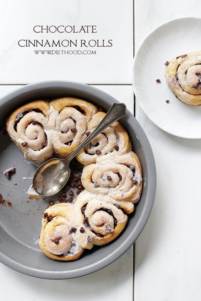 Oh my goodness - chocolate AND cinnamon rolls? These sound divine!
