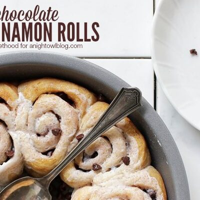Chocolate Cinnamon Rolls | anightowlblog.com